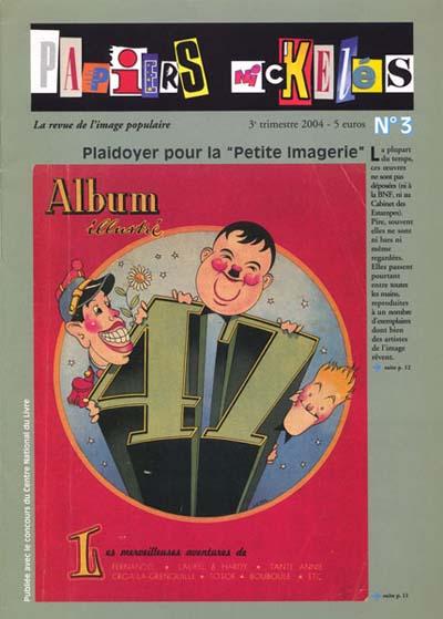 couverture de Papiers Nickelés n°3