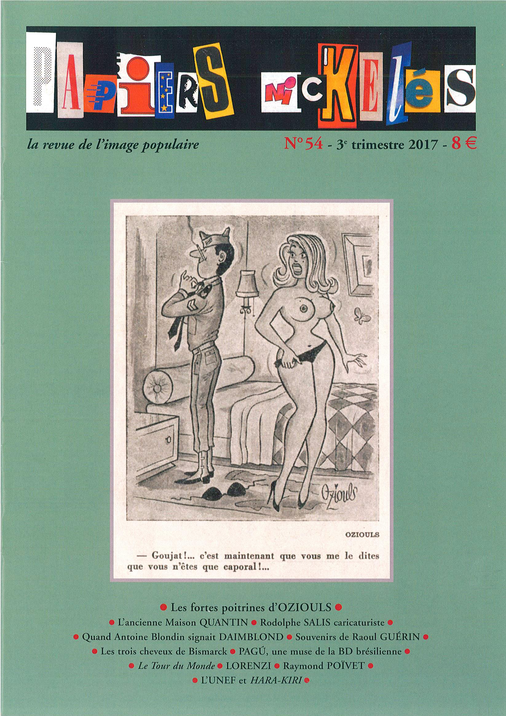 Papiers Nickelés n°54