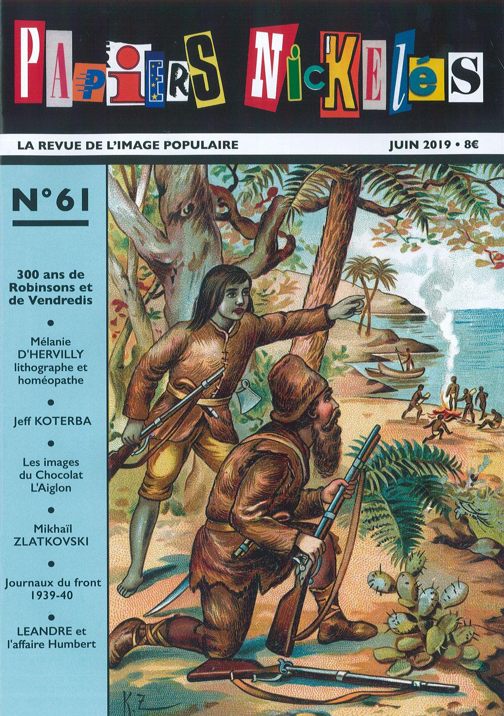 Papiers Nickelés n° 61